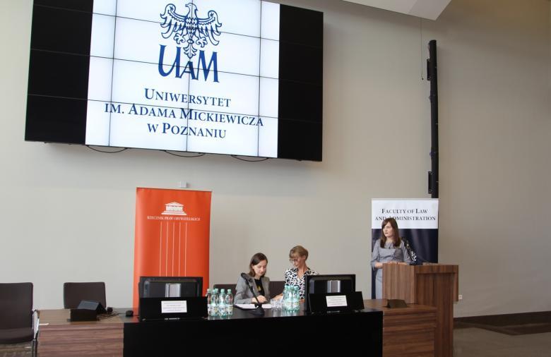 Sylwia Spurek na konferencji