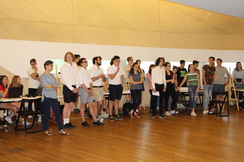 Młodzież uczestnicząca w projekcie