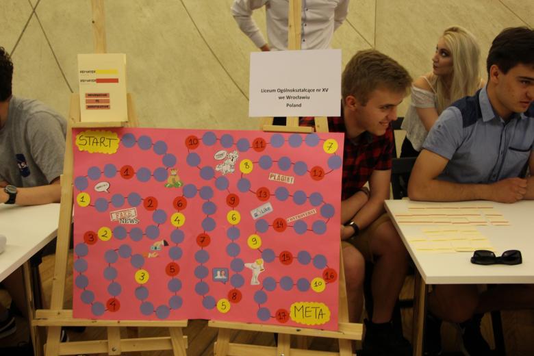 Projekt młodzieży - gra planszowa