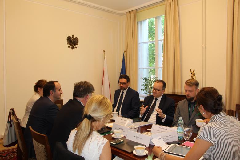 Spotkanie RPO z Komitetem Monitorującym Kongresu Władz Lokalnych i Regionalnych Rady Europy