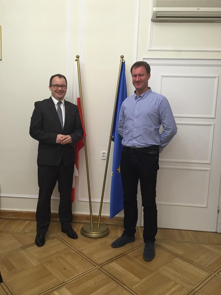 na zdjęciu dr Adam Bodnar i Krzysztof Zacharzewski