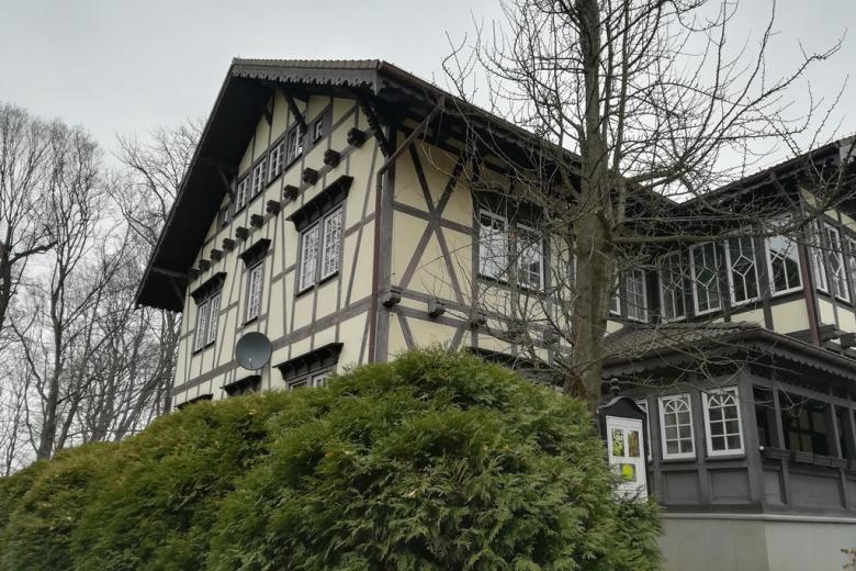 Dom z pruskim murem