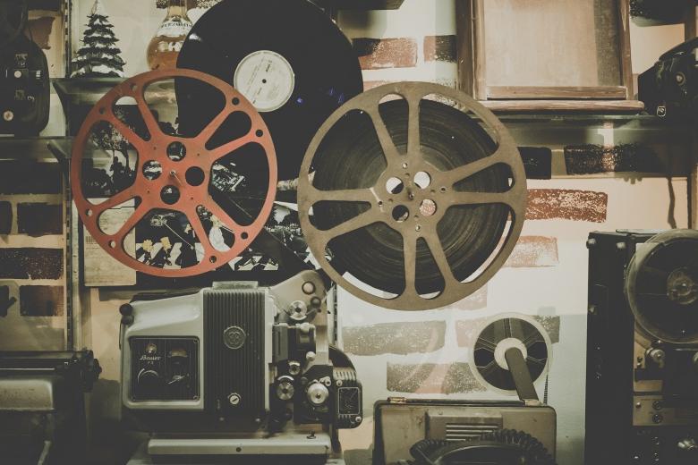 urządzenia kinowe do wyświetlania filmów