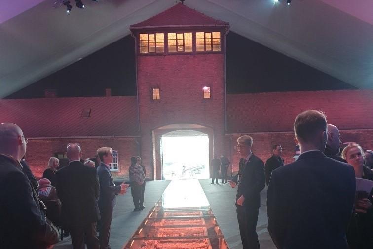 Wygląd sali podczas uroczystości