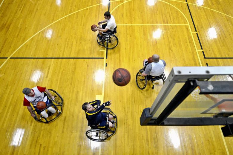 Koszykarze na wózkach