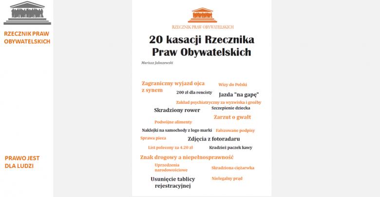 Mem z okładką z czarnymi i pomarańczowymi literami