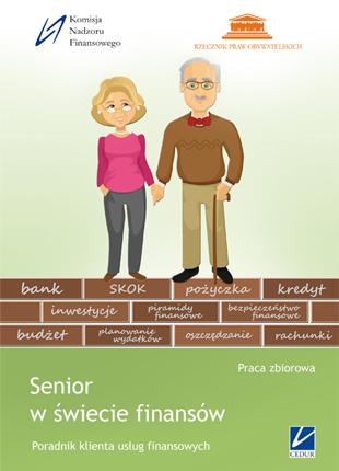 """Okładka publikacji """"Senior w świecie finansów."""""""