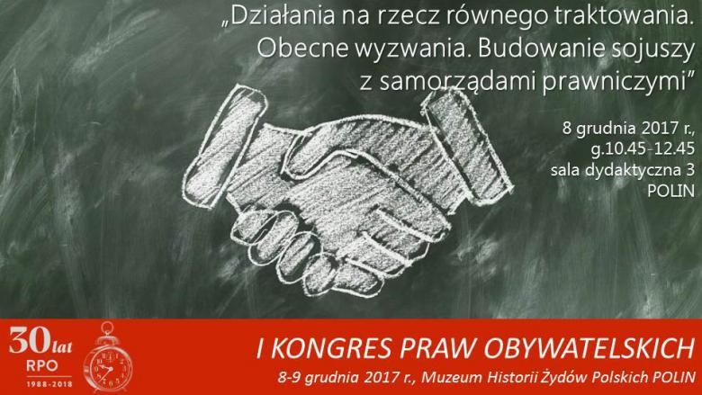 Mem z rysunkiem uścisku rąk narysowanych kredą na szkolnej tablicy