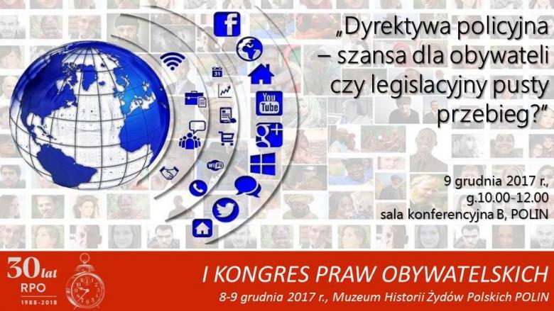 Mem z grafiką przedstawiającą świat, który oataczają symbole mediów społecznościowych i śroków komunikacji