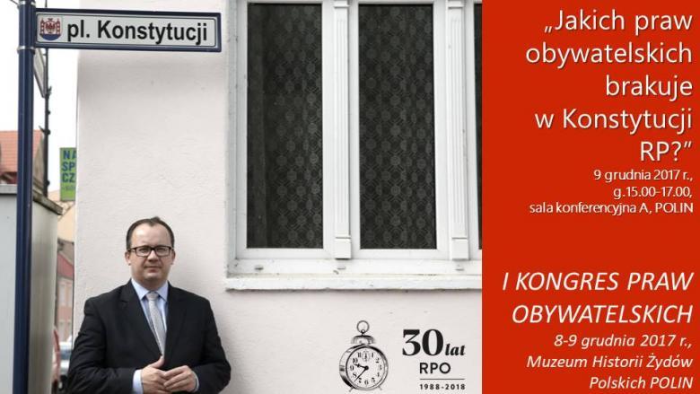 """Mem ze zdjęcem RPO Adama Bodnara pod znakiem """"Plac Konstytucji"""""""