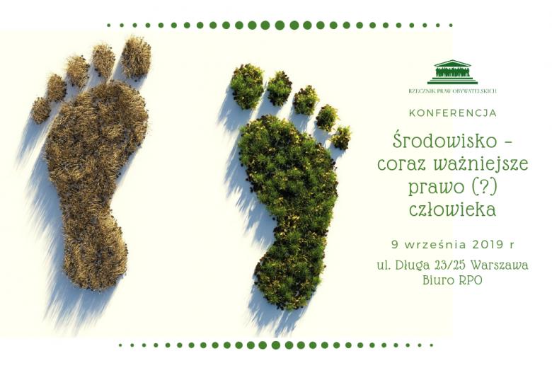 odciski stóp człowieka - jeden pokryty świeżą trawą drugi sianem