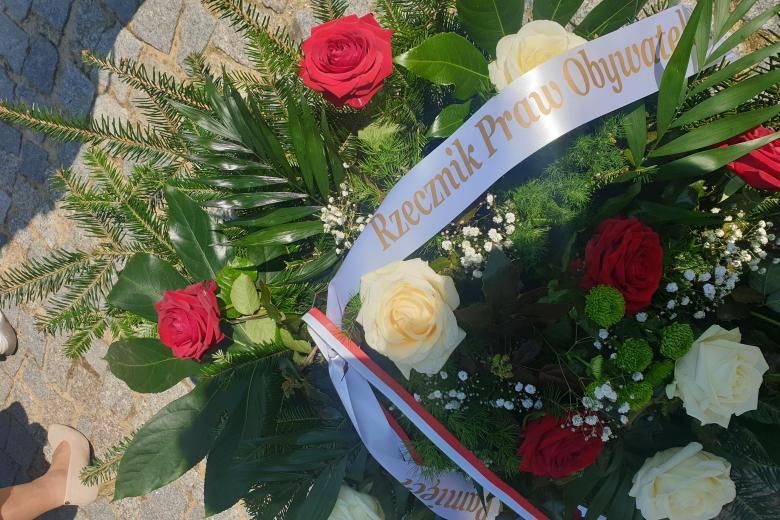 Wieniec. Podczas uroczystoości z okazji rocznicy wybuchu powstania w gettcie warszawskim