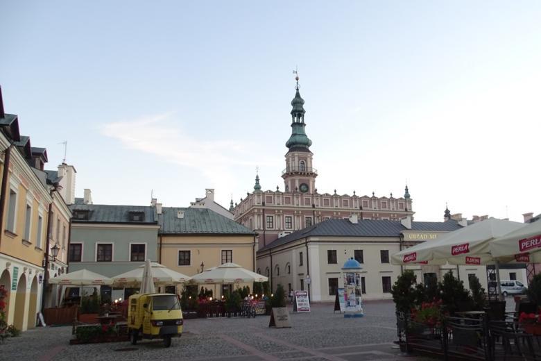 Zdjęcie: zabytkowe renesansowe miasto