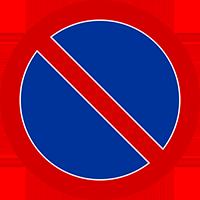 Znak ograniczenia zatrzymywania się