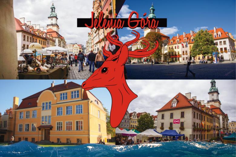 Cztery zdjęcia miasta