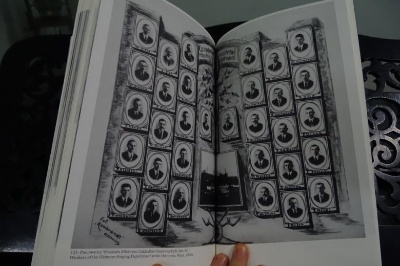 Tabelau - zestaw starych zdjęć portretowych