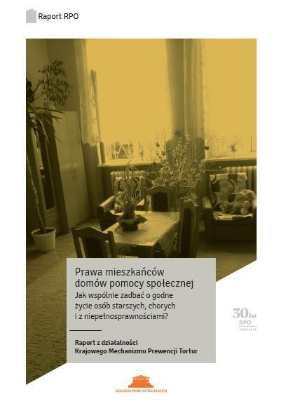 grafika: okladka publikacji, na której widać wnętrze pokoju