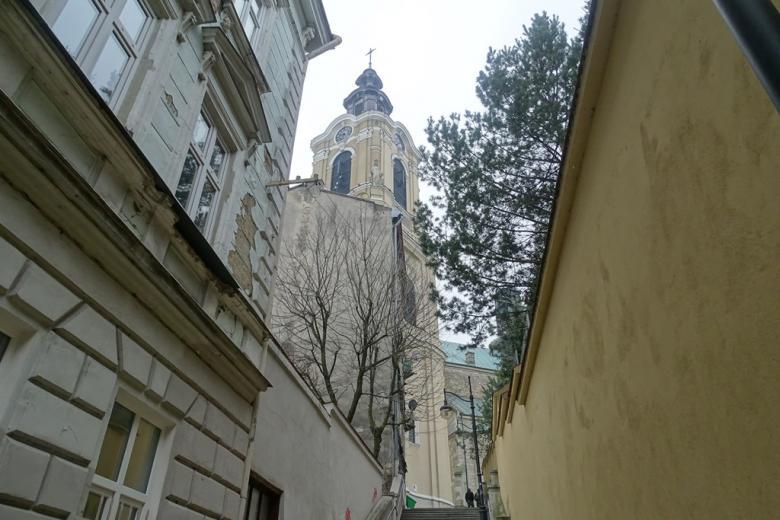 Ulica w starym mieście