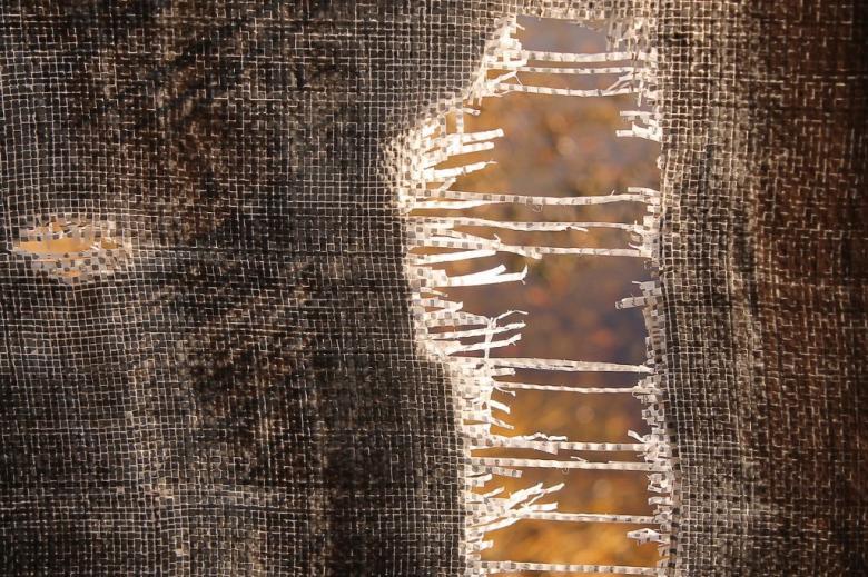 Rozdarta tkanina