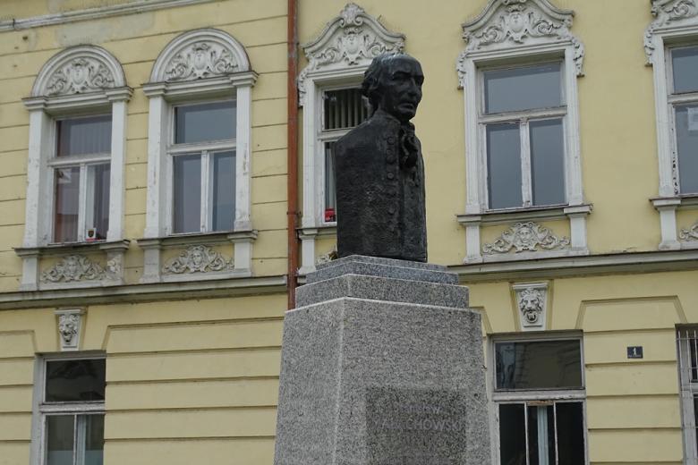 Zdjęcie: popiersie mężczyzny