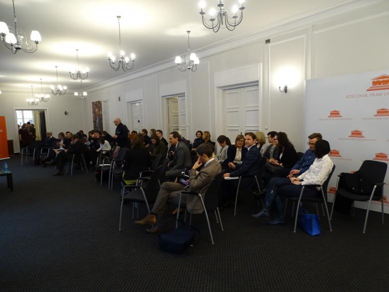 Zdjęcie: widok na salę i uczestników spotkania