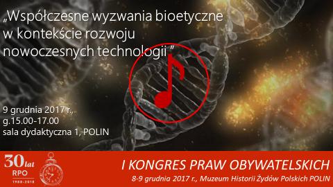 Mem ze zdjęciem DNA, znak odtwarzania dźwięku