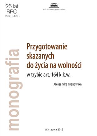 Biała okładka z brązowym tytułem