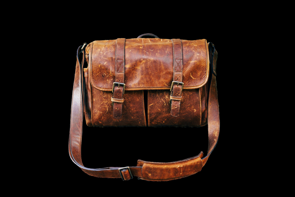 Skórzana torba na ramię