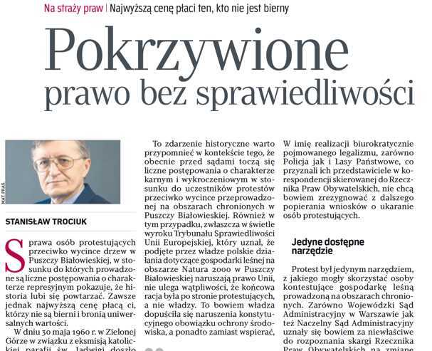 Artykuł ukazał się w Rzeczpospolitej 12 czerwca 2018r.